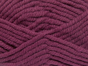 Fiber Content 50% Acrylic, 50% Wool, Brand Ice Yarns, Fuchsia, Yarn Thickness 6 SuperBulky  Bulky, Roving, fnt2-65625