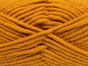 Fiber Content 50% Acrylic, 50% Wool, Brand Ice Yarns, Gold, Yarn Thickness 6 SuperBulky  Bulky, Roving, fnt2-65630