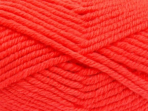 Fiber Content 50% Wool, 50% Acrylic, Brand Ice Yarns, Dark Salmon, Yarn Thickness 6 SuperBulky  Bulky, Roving, fnt2-65631