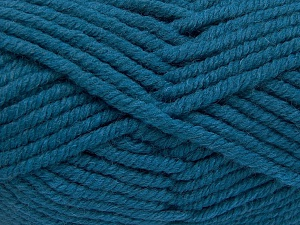 Fiber Content 50% Wool, 50% Acrylic, Turquoise, Brand Ice Yarns, Yarn Thickness 6 SuperBulky  Bulky, Roving, fnt2-65636