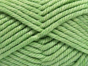 Fiber Content 75% Acrylic, 25% Superwash Wool, Light Green, Brand Ice Yarns, Yarn Thickness 6 SuperBulky  Bulky, Roving, fnt2-65695