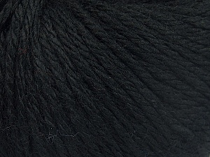Fiber Content 40% Merino Wool, 40% Acrylic, 20% Polyamide, Brand Ice Yarns, Black, Yarn Thickness 3 Light  DK, Light, Worsted, fnt2-65725