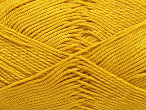Fiber Content 100% Mercerised Cotton, Brand Ice Yarns, Gold, Yarn Thickness 2 Fine  Sport, Baby, fnt2-65792