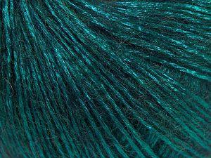 Fiber Content 70% Polyamide, 19% Merino Wool, 11% Acrylic, Brand Ice Yarns, Emerald Green, Yarn Thickness 2 Fine  Sport, Baby, fnt2-65831