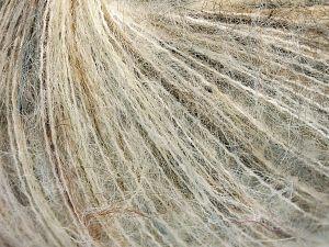 Fiber Content 63% Polyamide, 2% Elastan, 15% Wool, 10% Alpaca, 10% Acrylic, Brand Ice Yarns, Cream, Camel, Beige, fnt2-65881