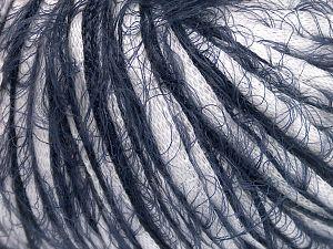 Fiber Content 50% Cotton, 50% Polyamide, White, Navy, Brand Ice Yarns, fnt2-65883