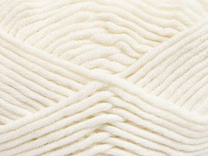 Fiber Content 50% Acrylic, 50% Merino Wool, White, Brand Ice Yarns, Yarn Thickness 5 Bulky  Chunky, Craft, Rug, fnt2-65938