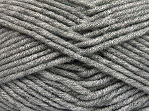 Fiber Content 50% Acrylic, 50% Merino Wool, Brand Ice Yarns, Grey, Yarn Thickness 5 Bulky  Chunky, Craft, Rug, fnt2-65940