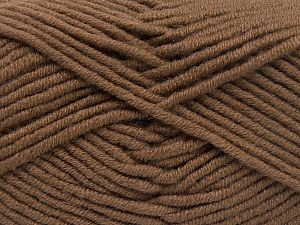 Fiber Content 50% Merino Wool, 50% Acrylic, Brand Ice Yarns, Brown, Yarn Thickness 5 Bulky  Chunky, Craft, Rug, fnt2-65943