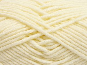 Fiber Content 50% Merino Wool, 50% Acrylic, Brand Ice Yarns, Cream, Yarn Thickness 5 Bulky  Chunky, Craft, Rug, fnt2-65944