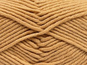 Fiber Content 50% Merino Wool, 50% Acrylic, Light Brown, Brand Ice Yarns, Yarn Thickness 5 Bulky  Chunky, Craft, Rug, fnt2-65946