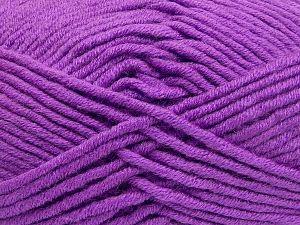 Fiber Content 50% Merino Wool, 50% Acrylic, Lavender, Brand Ice Yarns, Yarn Thickness 5 Bulky  Chunky, Craft, Rug, fnt2-65957