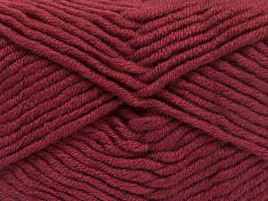 Fiber Content 50% Acrylic, 50% Merino Wool, Light Burgundy, Brand Ice Yarns, Yarn Thickness 5 Bulky  Chunky, Craft, Rug, fnt2-65963