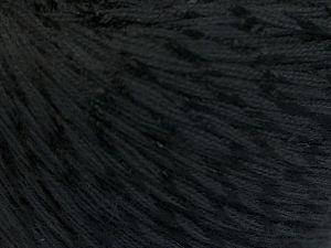 Fiber Content 70% Mercerised Cotton, 30% Viscose, Brand Ice Yarns, Black, Yarn Thickness 2 Fine  Sport, Baby, fnt2-65981