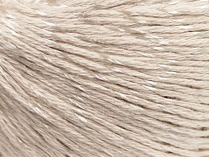 Fiber Content 70% Mercerised Cotton, 30% Viscose, Light Beige, Brand Ice Yarns, Yarn Thickness 2 Fine  Sport, Baby, fnt2-65986