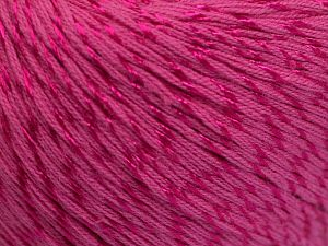 Fiber Content 70% Mercerised Cotton, 30% Viscose, Brand Ice Yarns, Candy Pink, Yarn Thickness 2 Fine  Sport, Baby, fnt2-65992