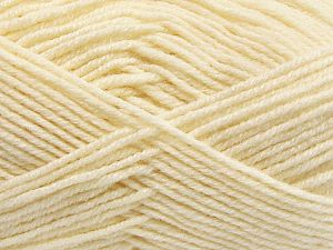 Fiber Content 60% Merino Wool, 40% Acrylic, Brand Ice Yarns, Cream, Yarn Thickness 3 Light  DK, Light, Worsted, fnt2-66074