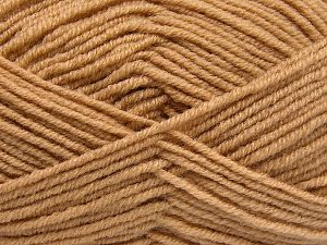 Fiber Content 60% Merino Wool, 40% Acrylic, Brand Ice Yarns, Dark Cream, Yarn Thickness 3 Light  DK, Light, Worsted, fnt2-66077