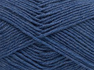 Fiber Content 60% Merino Wool, 40% Acrylic, Brand Ice Yarns, Blue, Yarn Thickness 3 Light  DK, Light, Worsted, fnt2-66081