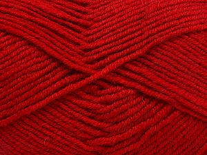 Fiber Content 60% Merino Wool, 40% Acrylic, Red, Brand Ice Yarns, Yarn Thickness 3 Light  DK, Light, Worsted, fnt2-66087