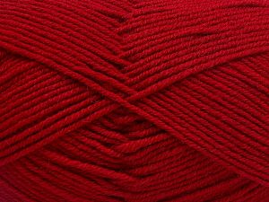 Fiber Content 60% Merino Wool, 40% Acrylic, Brand Ice Yarns, Dark Red, Yarn Thickness 3 Light  DK, Light, Worsted, fnt2-66088