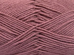 Fiber Content 60% Merino Wool, 40% Acrylic, Rose Pink, Brand Ice Yarns, Yarn Thickness 3 Light  DK, Light, Worsted, fnt2-66092