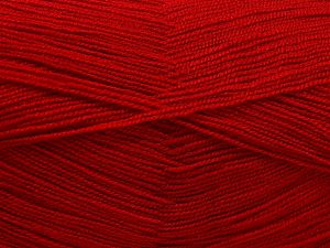 Very thin yarn. It is spinned as two threads. So you will knit as two threads. Yardage information is for only one strand. Fiber Content 100% Acrylic, Marsala Red, Brand Ice Yarns, Yarn Thickness 1 SuperFine  Sock, Fingering, Baby, fnt2-66159