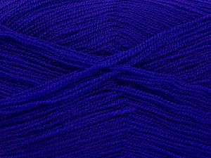Very thin yarn. It is spinned as two threads. So you will knit as two threads. Yardage information is for only one strand. Fiber Content 100% Acrylic, Purple, Brand Ice Yarns, Yarn Thickness 1 SuperFine  Sock, Fingering, Baby, fnt2-66171