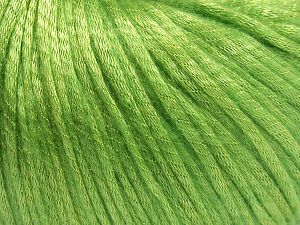 Fiber Content 67% Tencel, 33% Polyamide, Light Green, Brand Ice Yarns, Yarn Thickness 4 Medium  Worsted, Afghan, Aran, fnt2-66198