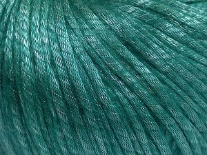Fiber Content 67% Tencel, 33% Polyamide, Brand Ice Yarns, Emerald Green, Yarn Thickness 4 Medium  Worsted, Afghan, Aran, fnt2-66201