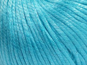 Fiber Content 67% Tencel, 33% Polyamide, Light Turquoise, Brand Ice Yarns, Yarn Thickness 4 Medium  Worsted, Afghan, Aran, fnt2-66203