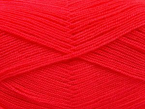 Very thin yarn. It is spinned as two threads. So you will knit as two threads. Yardage information is for only one strand. Fiber Content 100% Acrylic, Brand Ice Yarns, Dark Salmon, Yarn Thickness 1 SuperFine  Sock, Fingering, Baby, fnt2-66556