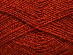 Fiber Content 60% Merino Wool, 40% Acrylic, Terra Cotta, Brand Ice Yarns, Yarn Thickness 3 Light  DK, Light, Worsted, fnt2-66566