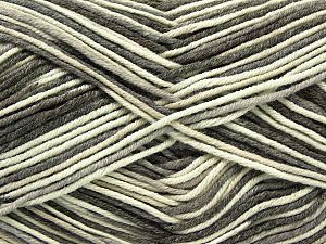 Fiber Content 50% Cotton, 50% Acrylic, Brand Ice Yarns, Grey, Cream, Camel, Yarn Thickness 2 Fine  Sport, Baby, fnt2-66574