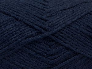 Fiber Content 60% Merino Wool, 40% Acrylic, Navy, Brand Ice Yarns, Yarn Thickness 3 Light  DK, Light, Worsted, fnt2-66586