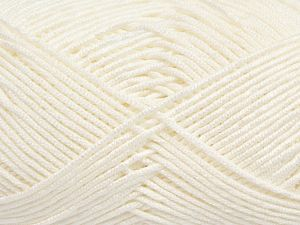 Fiber Content 50% Bamboo, 50% Acrylic, Optical White, Brand Ice Yarns, Yarn Thickness 2 Fine  Sport, Baby, fnt2-66607