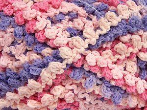 Fiber Content 50% Acrylic, 50% Polyamide, Pink Shades, Lilac, Brand Ice Yarns, Yarn Thickness 6 SuperBulky  Bulky, Roving, fnt2-66618