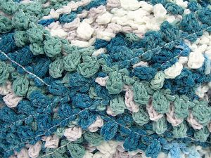Fiber Content 50% Acrylic, 50% Polyamide, White, Turquoise Shades, Brand Ice Yarns, Beige, Yarn Thickness 6 SuperBulky  Bulky, Roving, fnt2-66622