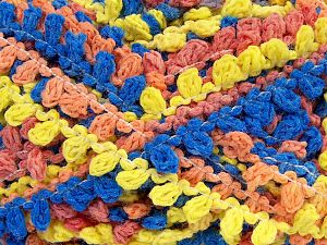 Fiber Content 50% Acrylic, 50% Polyamide, Yellow, Salmon Shades, Brand Ice Yarns, Green, Blue, Yarn Thickness 6 SuperBulky  Bulky, Roving, fnt2-66626