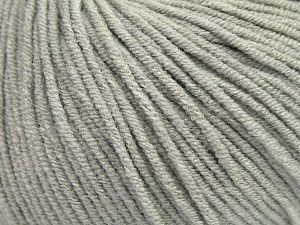 Modal is a type of yarn which is mixed with the silky type of fiber. It is derived from the beech trees. Fiber Content 55% Modal, 45% Acrylic, Light Grey, Brand Ice Yarns, Yarn Thickness 3 Light  DK, Light, Worsted, fnt2-66687