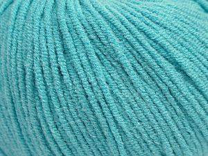 Modal is a type of yarn which is mixed with the silky type of fiber. It is derived from the beech trees. Fiber Content 55% Modal, 45% Acrylic, Light Turquoise, Brand Ice Yarns, Yarn Thickness 3 Light  DK, Light, Worsted, fnt2-66697