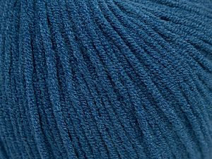 Modal is a type of yarn which is mixed with the silky type of fiber. It is derived from the beech trees. Fiber Content 55% Modal, 45% Acrylic, Brand Ice Yarns, Blue, Yarn Thickness 3 Light  DK, Light, Worsted, fnt2-66699
