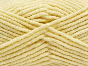 Fiber Content 50% Merino Wool, 50% Acrylic, Light Cream, Brand Ice Yarns, Yarn Thickness 5 Bulky  Chunky, Craft, Rug, fnt2-66713