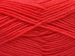 Fiber Content 50% Acrylic, 50% Wool, Salmon, Brand Ice Yarns, fnt2-66718