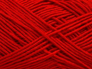 Fiber Content 50% Bamboo, 50% Acrylic, Red, Brand Ice Yarns, Yarn Thickness 2 Fine  Sport, Baby, fnt2-66772