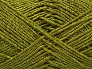 Fiber Content 50% Bamboo, 50% Acrylic, Light Green, Brand Ice Yarns, Yarn Thickness 2 Fine  Sport, Baby, fnt2-66773