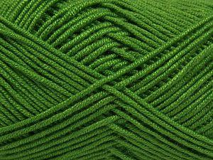Fiber Content 50% Acrylic, 50% Bamboo, Brand Ice Yarns, Green, Yarn Thickness 2 Fine  Sport, Baby, fnt2-66774