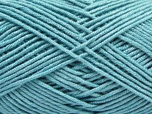 Fiber Content 50% Acrylic, 50% Bamboo, Light Blue, Brand Ice Yarns, Yarn Thickness 2 Fine  Sport, Baby, fnt2-66775