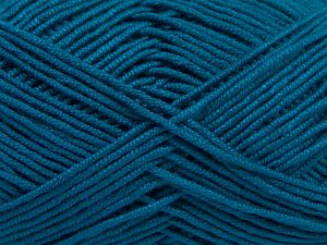 Fiber Content 50% Bamboo, 50% Acrylic, Turquoise, Brand Ice Yarns, Yarn Thickness 2 Fine  Sport, Baby, fnt2-66776