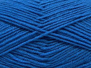 Fiber Content 60% Merino Wool, 40% Acrylic, Brand Ice Yarns, Dark Blue, Yarn Thickness 3 Light  DK, Light, Worsted, fnt2-66782